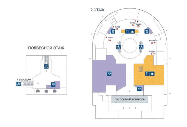 Подвесной этаж в зале для
