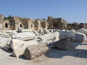 Развалины Аспендоса хранят таинство турецкого народа