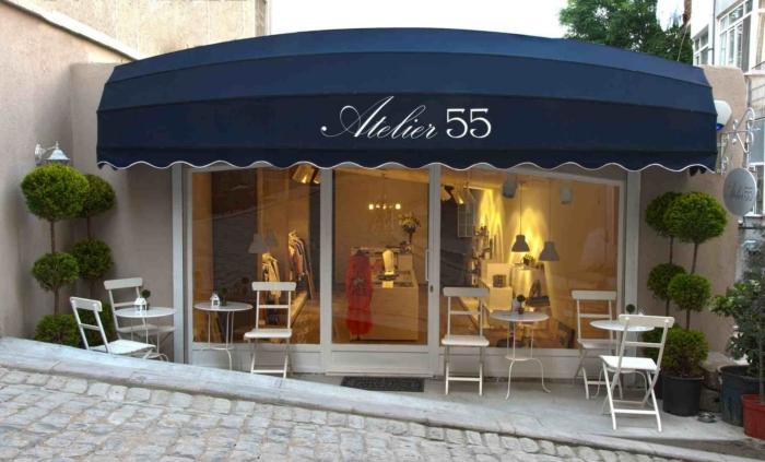 Фасад магазина Atelier 55 в Стамбуле