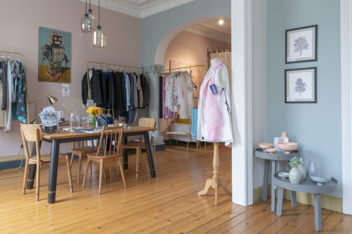 Одежда от знаменитого дизайнера в магазине Bahar Korcan