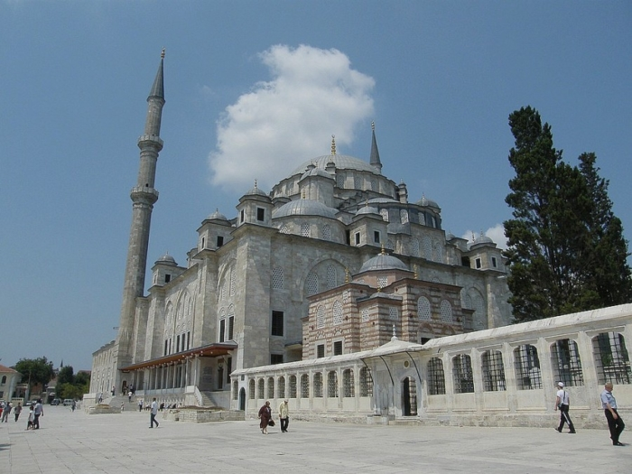 Мечеть Фатих на месте храма Апостолов