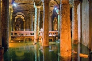 Цистерна Базилика в Стамбуле - уникальное творение