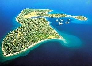 Остров Клеопатры в Турции - потрясающие виды на море