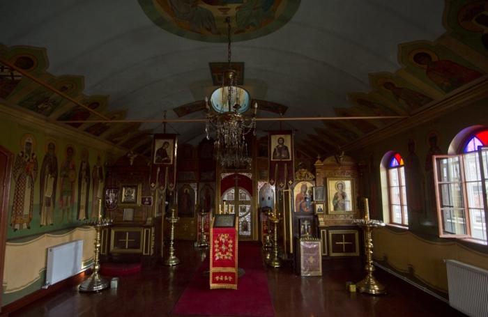 Храм Святого Ильи Пророка в Стамбуле: вид изнутри