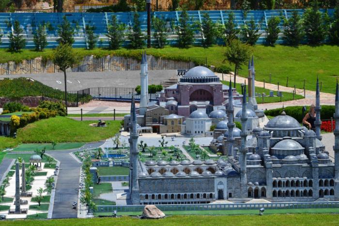 Мечеть Айя София в миниатюре