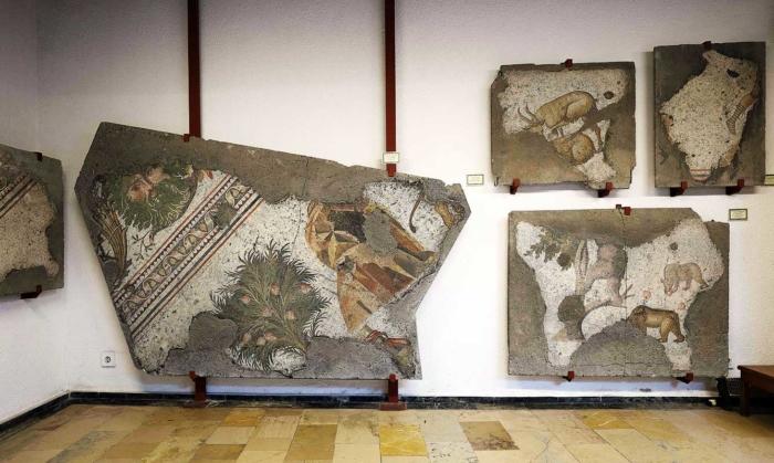 Настенный узор из древнего Рима