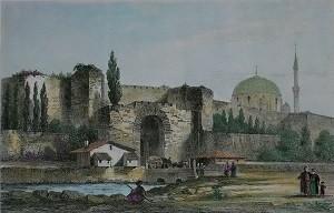 Эдирнекапы в Стамбуле - район с мечетью Михримах