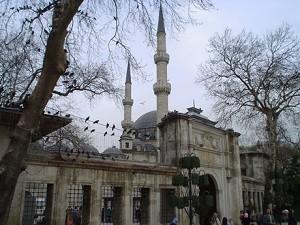Мечеть Султана Эйюпа - главная святыня в Турции