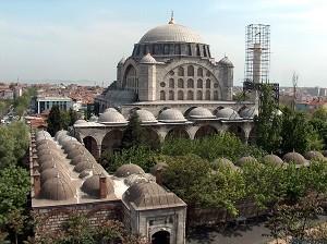 Мечеть Михримах Султан в Эдирнекапы - история любви