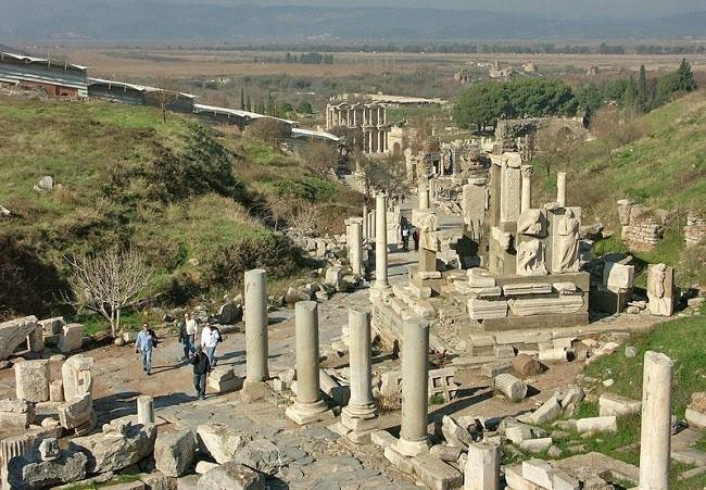 Руины древней библиотеки