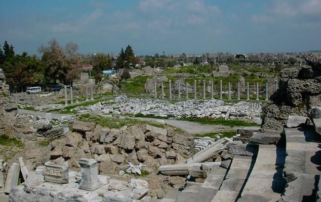 Руины Агоры