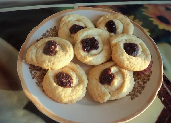печенье песочное домашнее рецепт на маргарине курабье