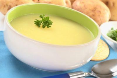 как делать суп пюре из картофеля