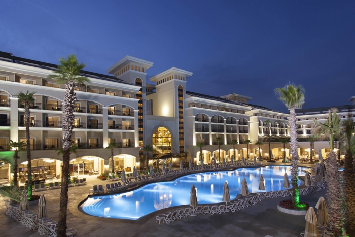 Alva Donna Exclusive Hotel & Spa 5* - ночью