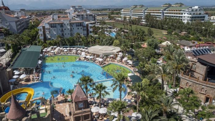 Огромная территория Belek Beach Resort 5* звезд