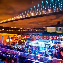 Ночная жизнь в Стамбуле