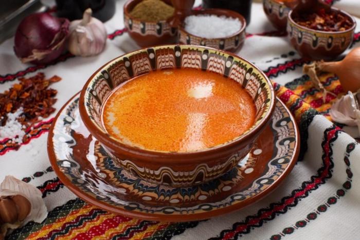 Наваристый суп шкембе или ишмбе