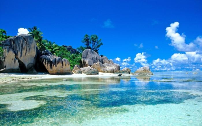Прозрачные воды Индийского океана на Бали