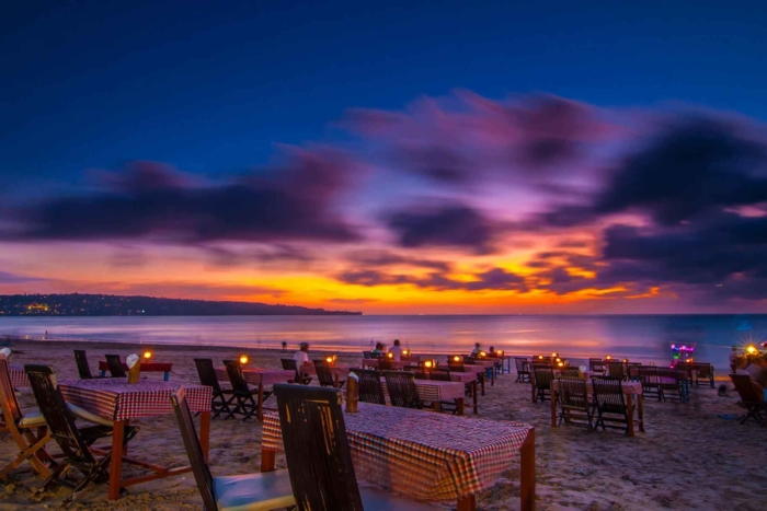 Ресторан на пляже Джимбаран