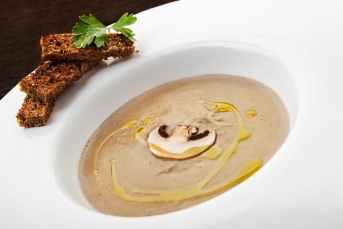 Грибной суп-пюре без комочков как в Ikea