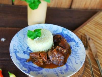 Готовая куриная печень с рисом