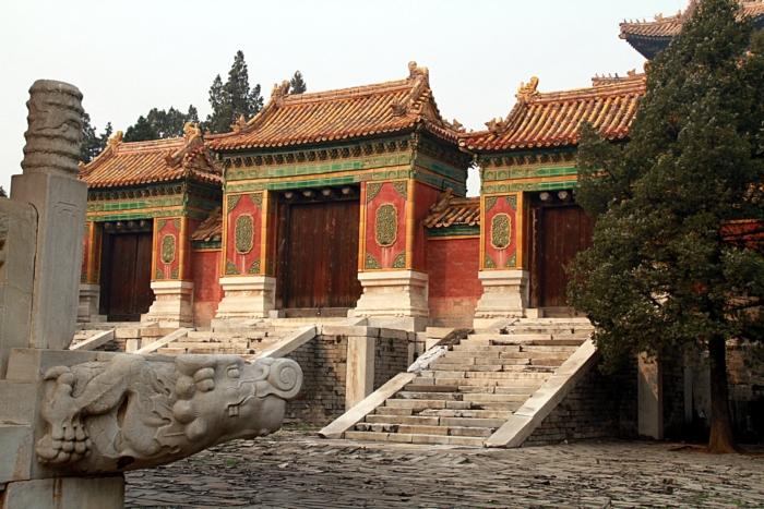 Императорские гробницы династии Мин