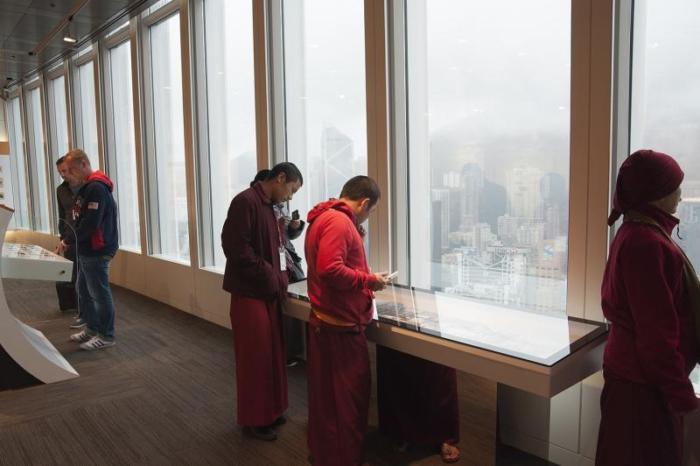 Смотровая площадка в гонконгском музее денег