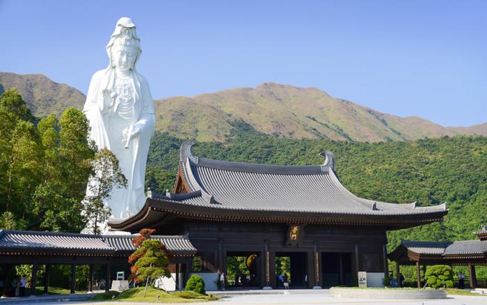 Монастырь Тз Шань