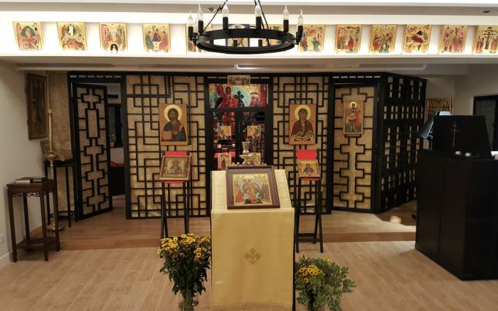 Православный храм в Гонконге