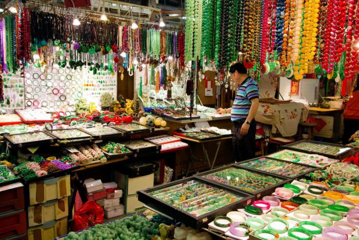 Нефритовый рынок