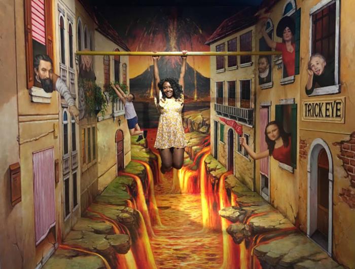 Музей оптических иллюзий в Гонконге