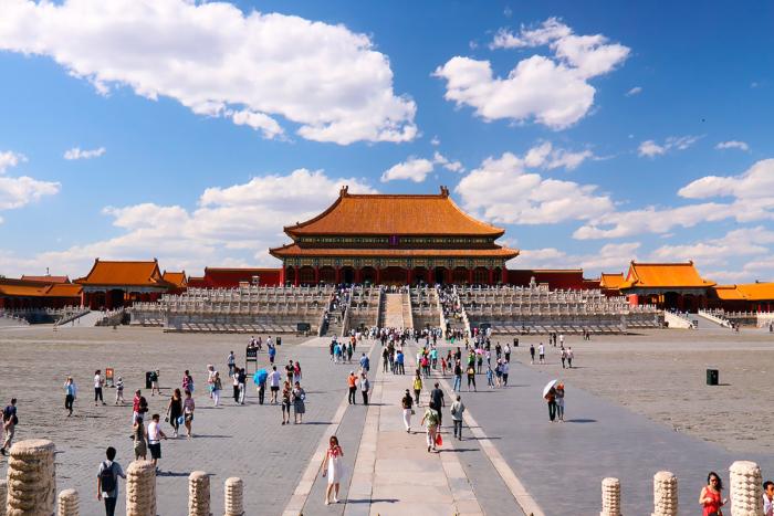 Главная площадь Пекина — Тяньаньмэнь