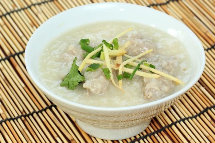 Рисовая похлебка по-китайски