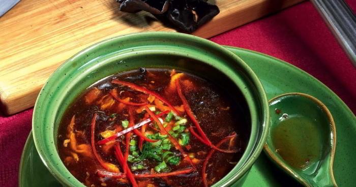 Кисло-сладкий суп с перчинкой из Китая
