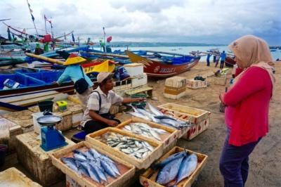 Свежая рыба на Jimbaran Fish Market