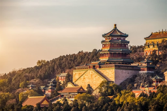 Летний дворец императоров в Китае