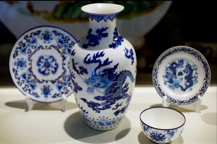 Посуда из китайского фарфора