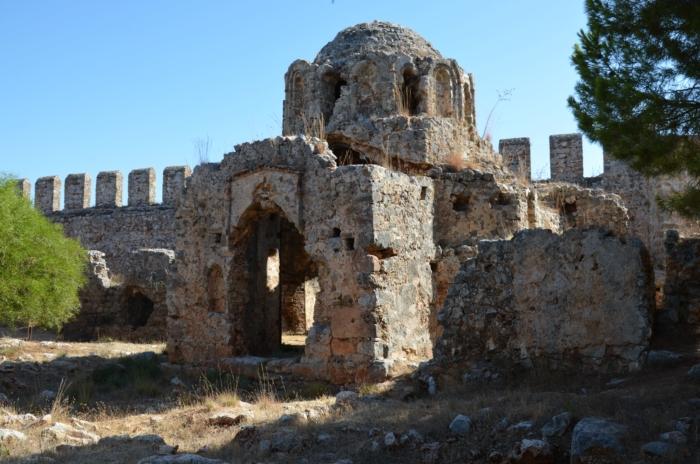 Руины Византийской крепости