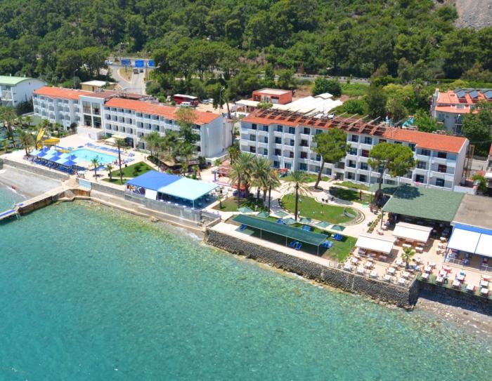 Rama Beach Hotel расположенный на первой береговой линии