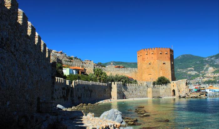 Главная достопримечательность Аланьи - крепость