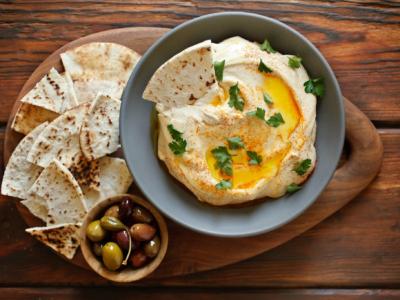 Хумус - знаменитая паста из нута
