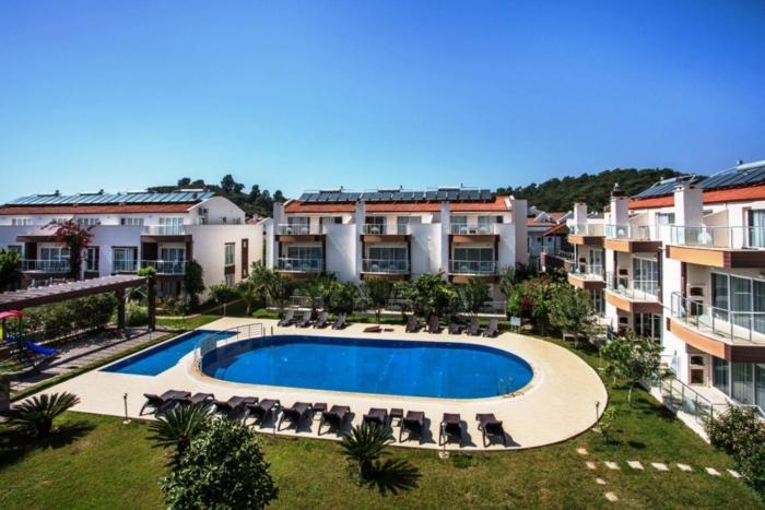 Чистая территория Pasham Beach Villa Residence