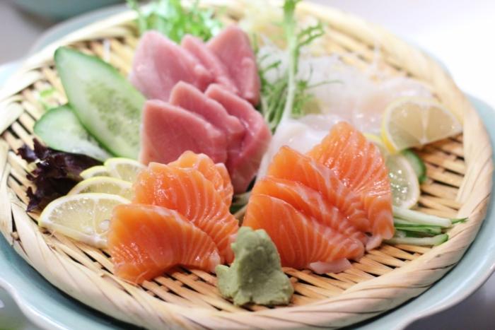 Японское блюдо в стиле fusion