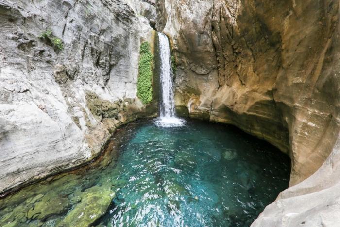 Знаменитый водопад в каньоне Сападере (Аланья)