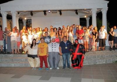 Турецкая ночь в Nicholas Park Hotel
