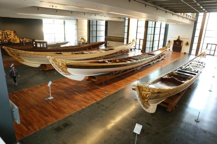 Императорские лодки в Морском Музее