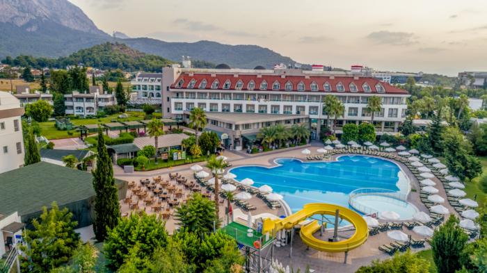 Обзор отеля Sherwood Greenwood Resort 4* в Кемере (Турция)