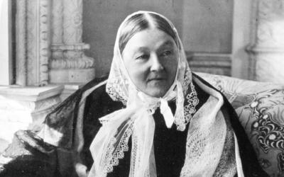 Фотография знаменитой сестры милосердия - Флоренс Найтингейл