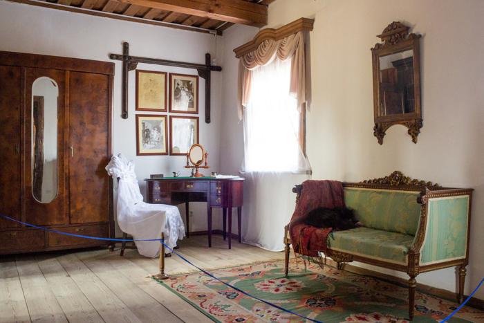 Гостевая комната в доме-музее Адама Мицкевича (Стамбул)