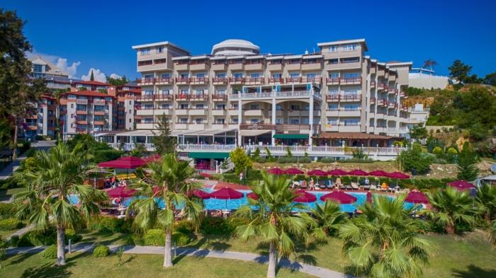 Живописная панорама на Justiniano Deluxe Resort (Alanya, Turkey)